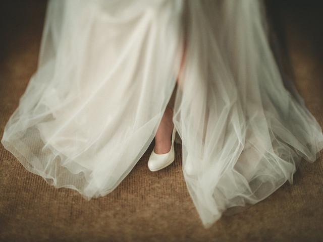 7 truques para parecer mais alta com o vestido de noiva