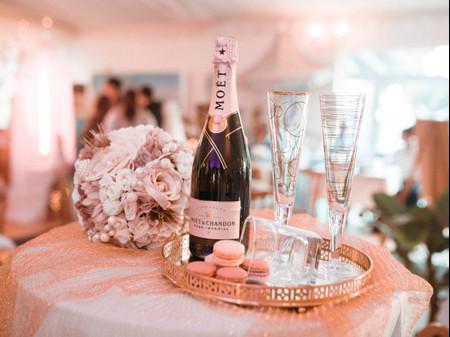Alternativas ao champanhe para o vosso dia C