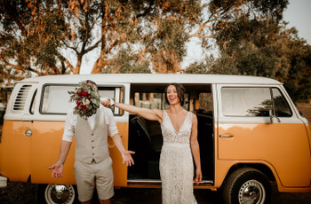 Volkswagen Kombi: o carro que não pode faltar no vosso casamento!