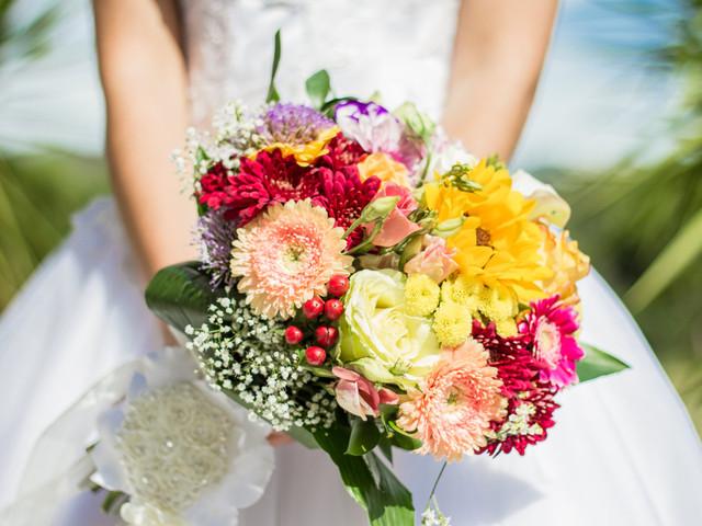 4 ideias para fotografar o ramo da noiva