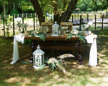 As tendências mais in para a decoração de um casamento shabby chic