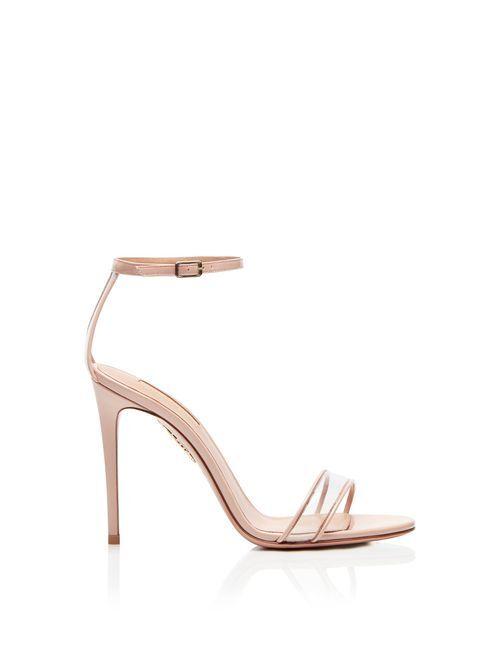 Minimalist Sandal 105 pink, Aquazzura