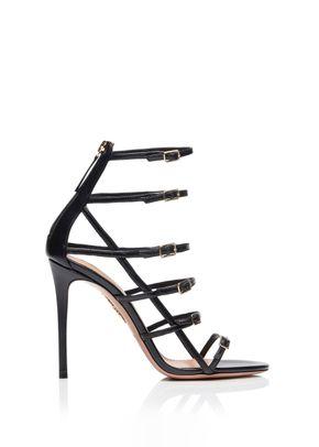 Super Model Sandal 105 black, Aquazzura