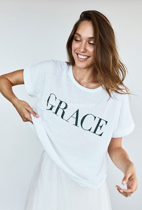 grace tee, Grace Loves Lace