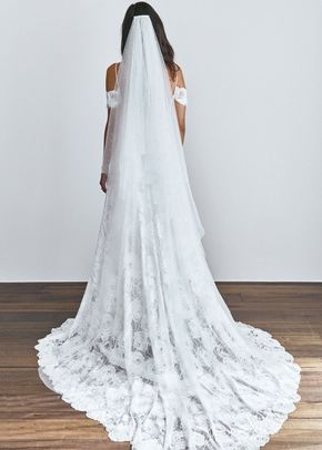 pearly short veil, Grace Loves Lace