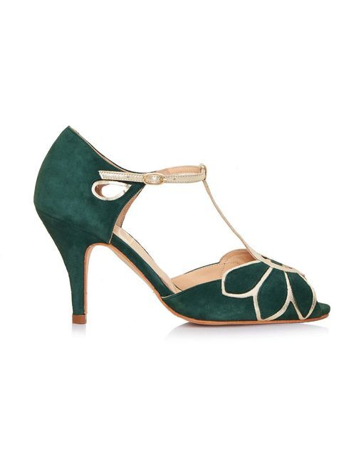 Mimosa Forest Green, Rachel Simpson Shoes