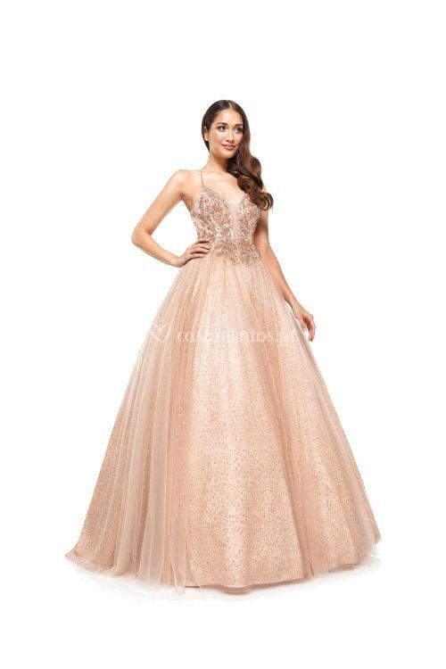 2264RSGD, Colors Dress