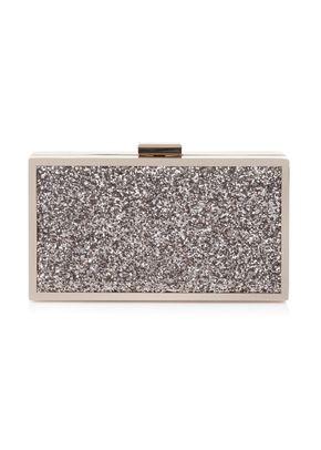 Quartz Glitter Clutch Bag, Rachel Simpson