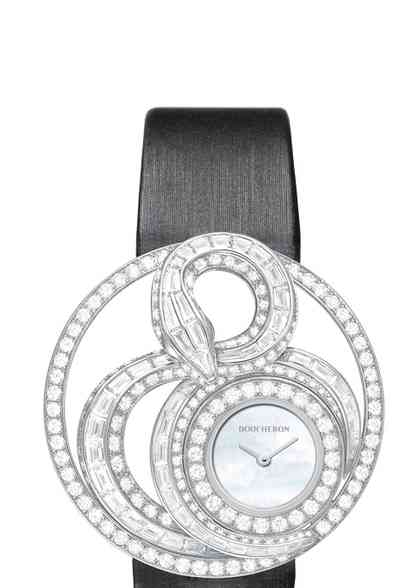 AJOURÉE AMVARA JEWELRY WATCH, Boucheron