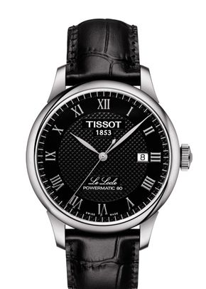 LE LOCLE POWERMATIC 80 black, Tissot