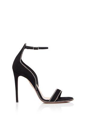 Satine Crystal Sandal 105, Aquazzura