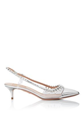 Temptation Crystal Pump 45, Aquazzura
