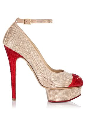 CRYSTAL KISS ME DOLORES, Charlotte Olympia