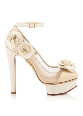 FLORA AND NUDE, Charlotte Olympia