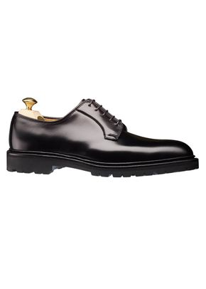 Lanark III Black Cavalry Calf , Crockett & Jones