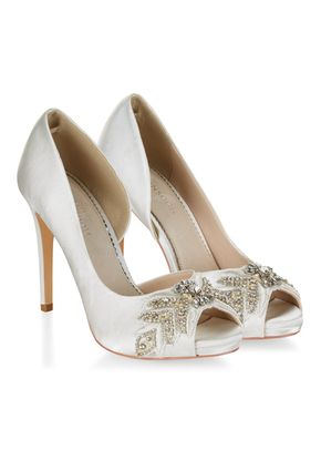AIMEE EMBELLISHED PEEPTOE , Monsoon
