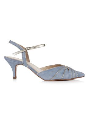 Gardenia II Blue, Rachel Simpson Shoes