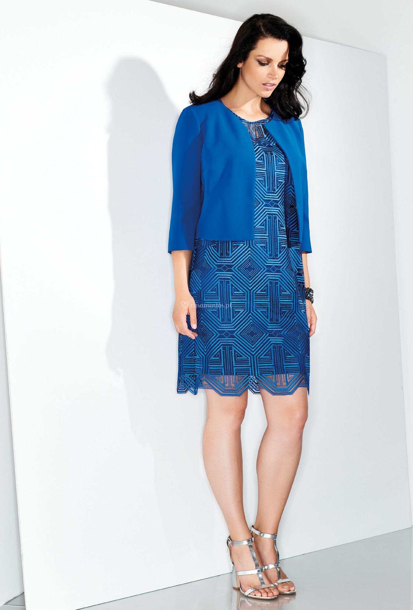 quality design 757fd 3787a Vestido de Festa de Elena Mirò - 161474-145