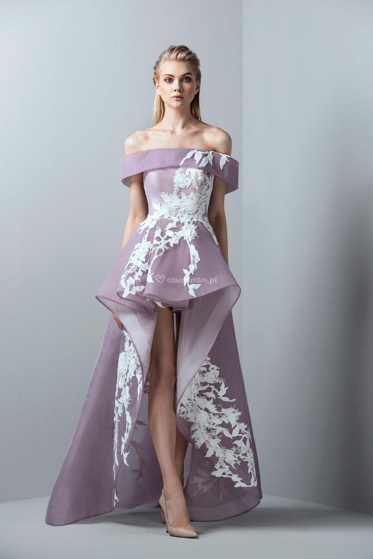 Vestido De Festa Saiid Kobeisy
