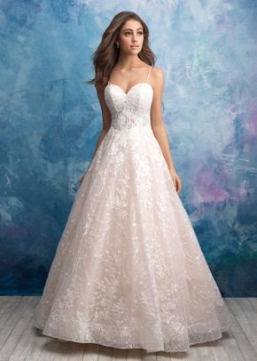9559 , Allure Bridals