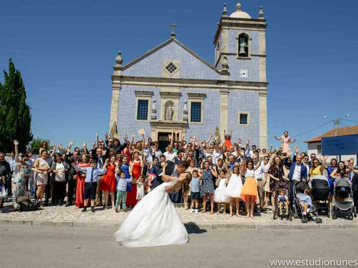 O casamento de Filipe e Celine