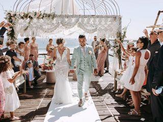 O casamento de Laura e Yoan