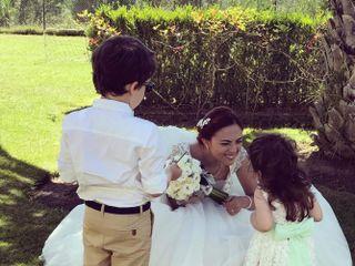 O casamento de Patricia  e Bony  3
