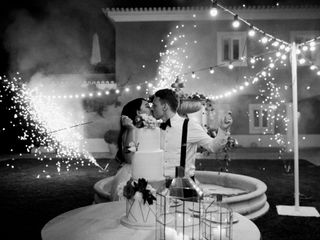 O casamento de Angel e Kjetil
