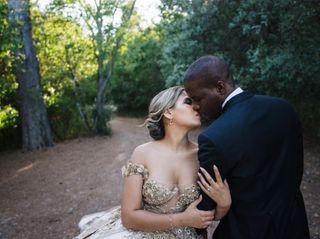 O casamento de Carla e Evander