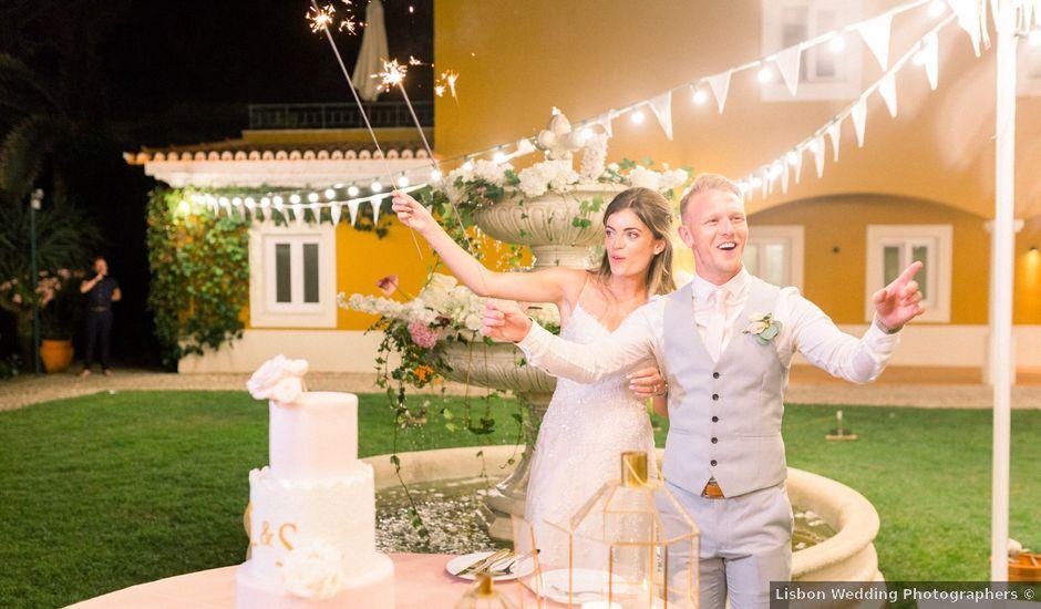 O casamento de Scott e Lauren em Cascais, Cascais