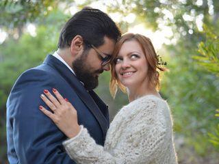 O casamento de Natalya e Leandro