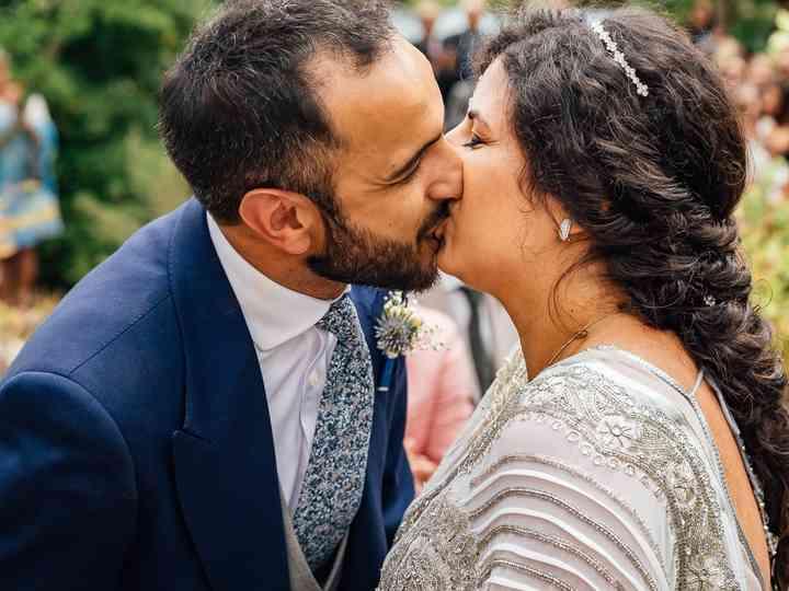 O casamento de Dina e Ricardo