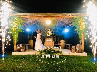 O casamento de Diana e Moroni