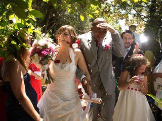 O casamento de Laura e Cláudio