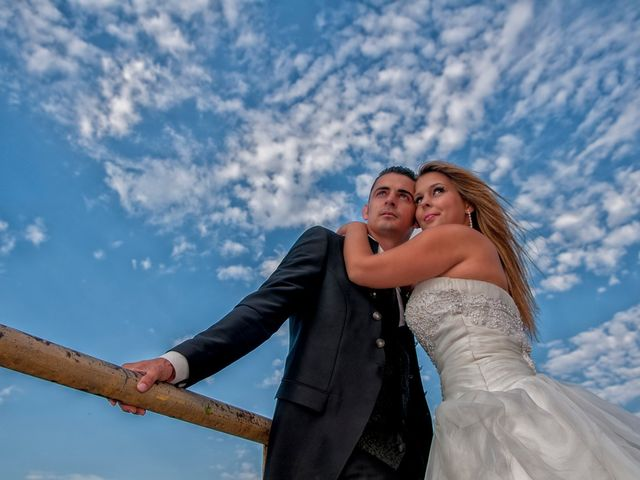 O casamento de Andreia e Cristiano