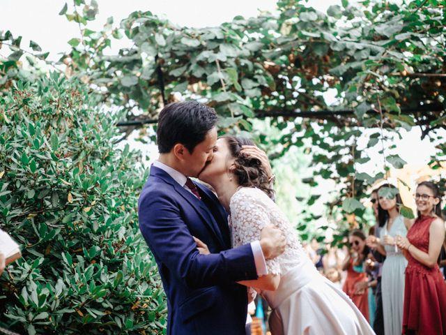 O casamento de Cátia e Sam