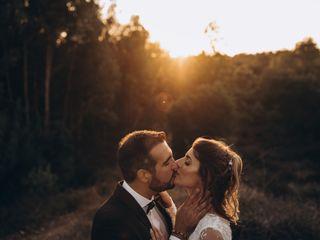 O casamento de Léo e Cláudio
