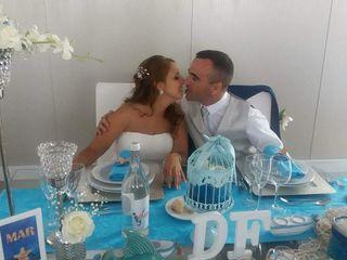 O casamento de Denise e Fábio
