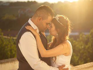 O casamento de Alexandra e Marco