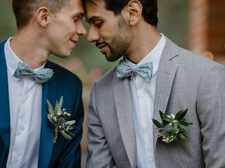 O casamento de Ludovic e Alexandre