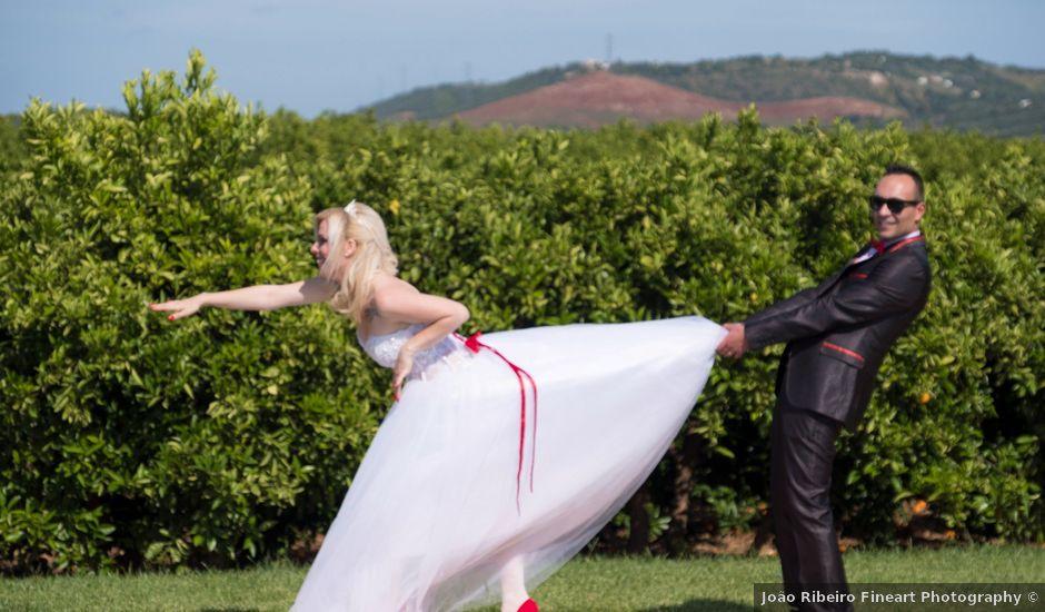 O casamento de Fábio e Rosa em Portimão, Portimão