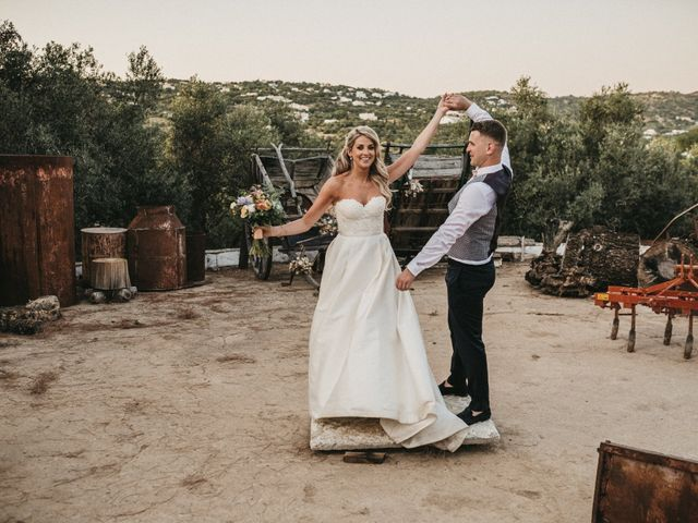 O casamento de Megan e Rory