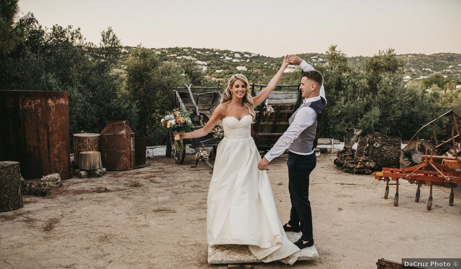 O casamento de Rory e Megan em Faro, Faro (Concelho)