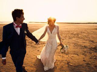 O casamento de Kheira e Benoit