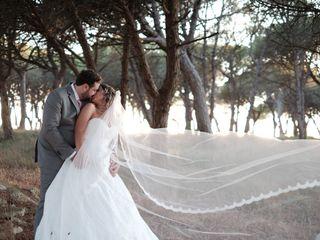 O casamento de Maryline e João