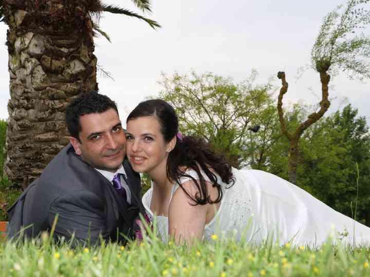 O casamento de Mónica e Pedro
