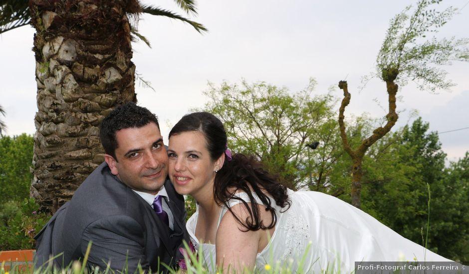 O casamento de Pedro e Mónica em Santarém, Santarém (Concelho)