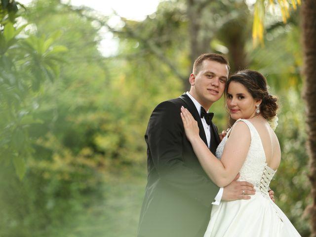 O casamento de Miguel e Stephanie