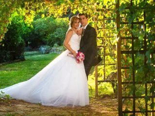 O casamento de Cláudia e Ruben