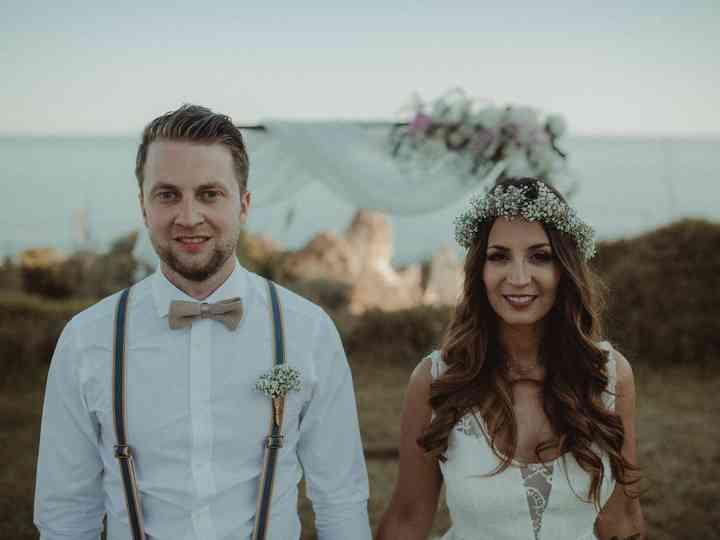 O casamento de Janine e Christoph